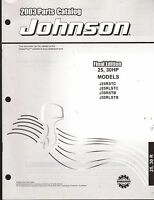 2003 Johnson Outboard Motor 25 & 30 Hp Parts Manual (903)