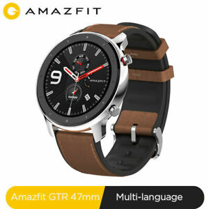 "Huami AMAZFIT GTR Smartwatch BT5.0 47mm GPS 1.39"" AMOLED 50M Waterproof 24Days"