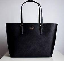 MICHAEL KORS Damen Tasche JET SET TRAVEL LG CARRYALL TOTE Saffiano Leder black