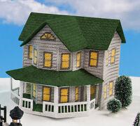 Mary Maxim Grey House Plastic Canvas Kit on sale