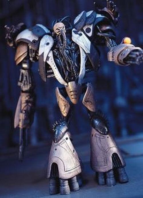 Mcfarlane comic - spielzeug brut roboter interlink - serie wert, box tragen