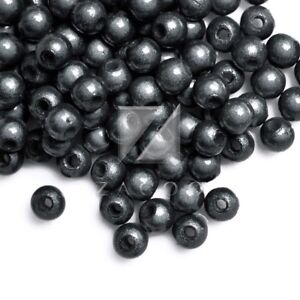 120pcs-Acrylic-Round-Illusion-Miracle-Beads-Craft-Spacer-Wholesale-4x4x4mm-Black