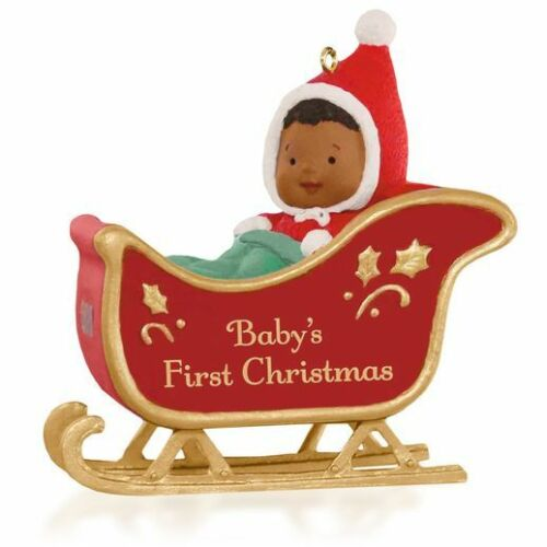 Hallmark Ornament 2015 Baby's First Christmas