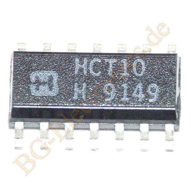 Harris 5x CD74HCT02E Quad 2-Input NOR-Gate