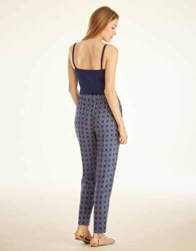 95 BRAVISSIMO Loose Fit Jersey Trousers in Denim Colour by Pepperberry