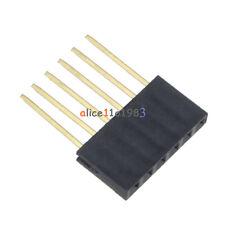 100pcs 6 Pin 254 Mm Stackable Long Legs Femal Header For Arduino Shield
