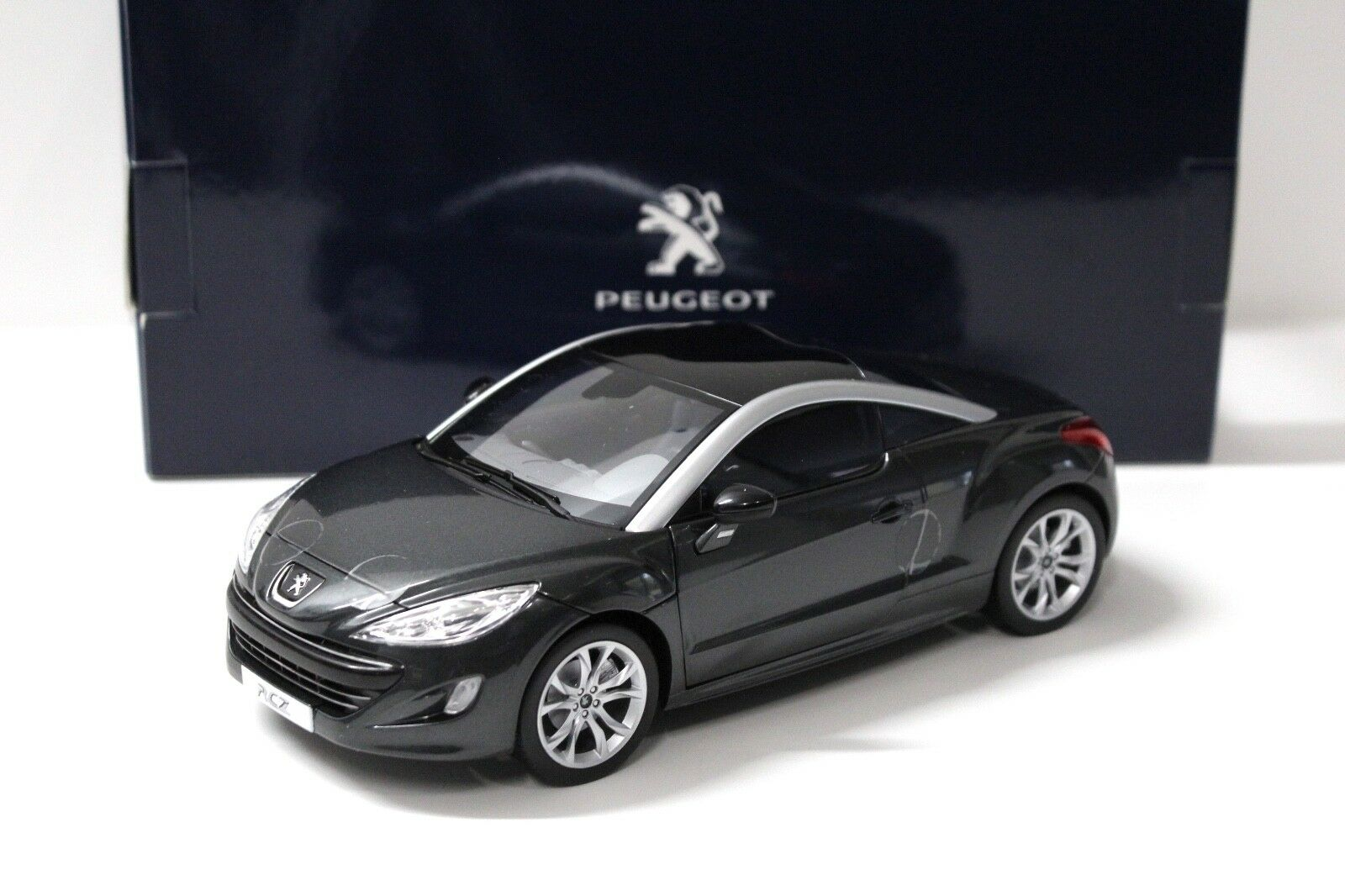 1 18 Norev Peugeot RCZ haria grey DEALER NEW bei PREMIUM-MODELCARS