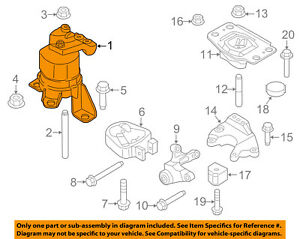 details about ford oem 13 16 fusion engine motor mount torque strut dg9z6038h 2014 ford fusion parts diagram ford fusion engine diagram #12