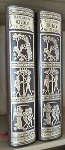 LA GRANDE BIBLE DE TOURS- Grand Format 2/2 Tomes - JEAN DE BONNOT 1975-76