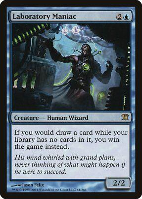 Laboratory Maniac Innistrad NM Blue Rare MAGIC THE GATHERING MTG CARD ABUGames