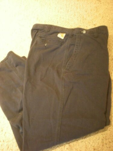 371-20 Relaxed Fit 40X32 Carhartt FR Navy Blue Pants Good