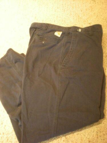371 Pantaloni Fr Rilassato condizioni 10d 34 20 38x30 Carhartt blu scuro vg 2 SqXWdEE