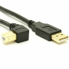 USB 2.0 A to Right Angle B Cable