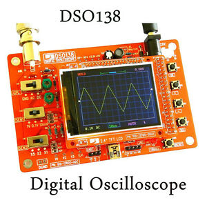 DSO138-2-4-034-TFT-Digital-Oscilloscope-Kit-DIY-Parts-1Msps-with-Probe-STM32