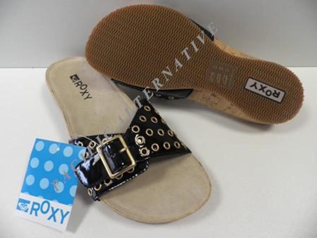 Chaussures ROXY Laguna noir sandales FEMME été  NEUF taille 39