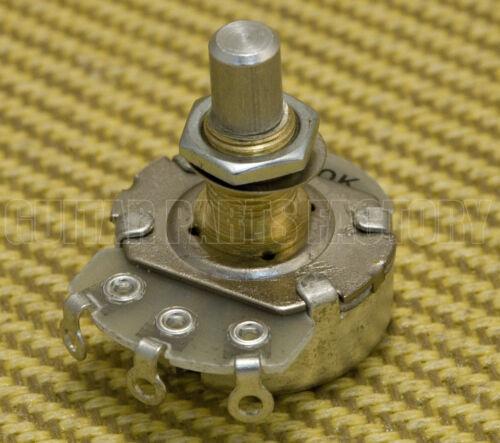 1 RV2401-18RL-A500K Alpha 500k Audio Solid Shaft Full-Size Pot Potentiometer