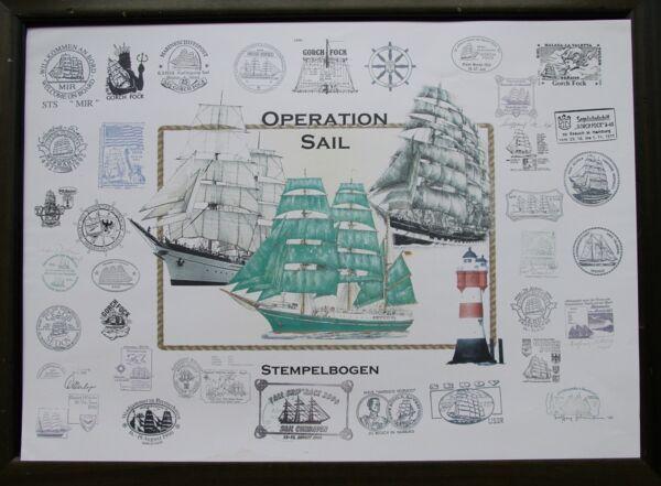 Alexander Von Humboldt Gorch Fock Kruzenstern Sail Leuchtturm Rotersand Marine