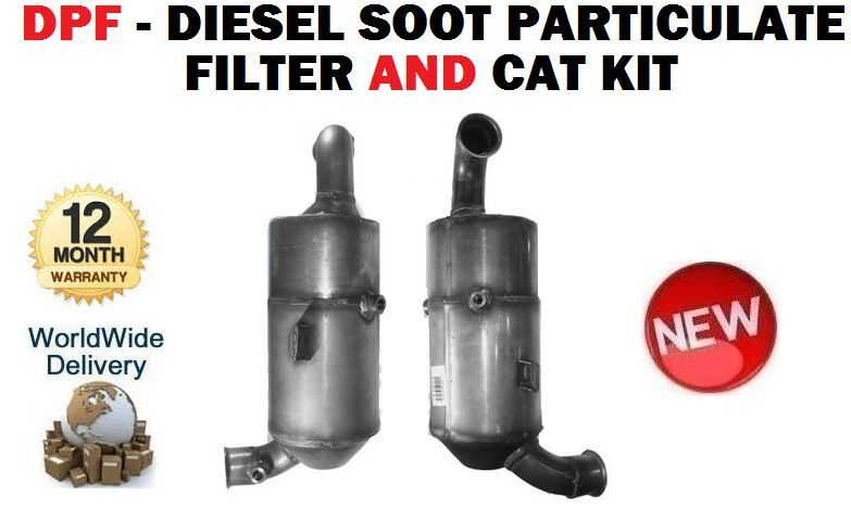For Citroën C3 Picasso 2005   Diesel Particulate Filter Diesel Particulate Filter & Cat