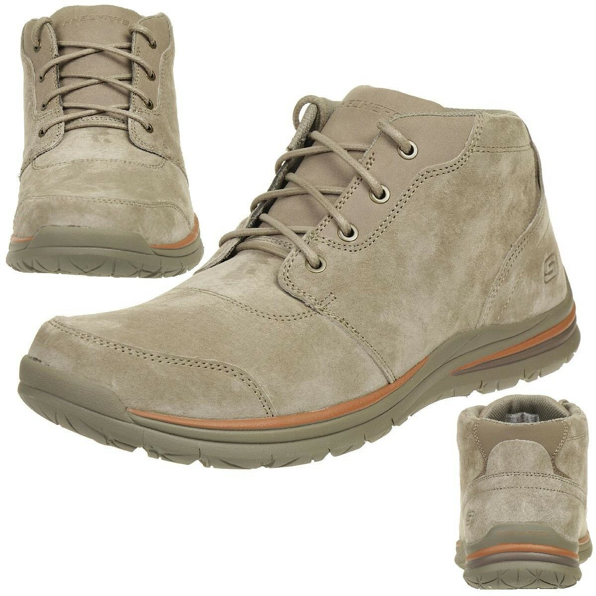 Venta de liquidación de temporada Skechers superior 2.0 brunco botas outdoor zapatos cassic fit tpe