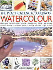 The Practical Encyclopedia of Watercolour by Wendy Jelbert (Board book, 2003)