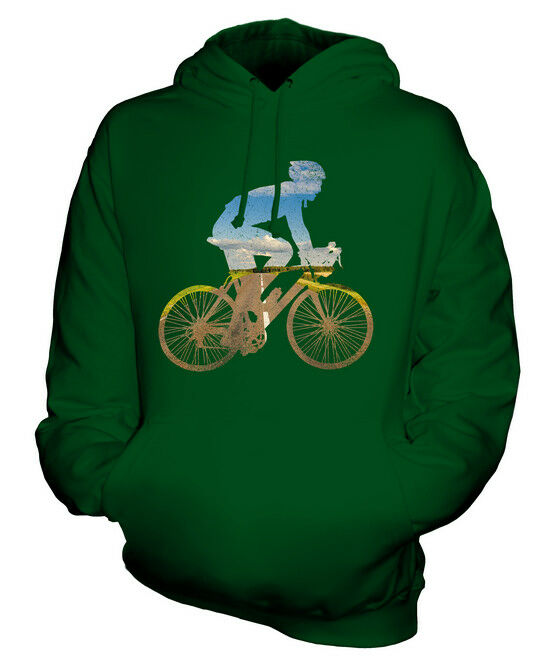ROAD CYCLIST UNISEX HOODIE TOP GIFT BICYCLE OUTDOORS