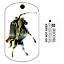 Pour Geocaching-traçable Tag Travel Bug Cavalier sans Tête Voyage Tag