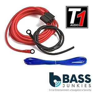 8 awg 1000 watt car amplifier amp sub power earth remote wiring rh ebay ie