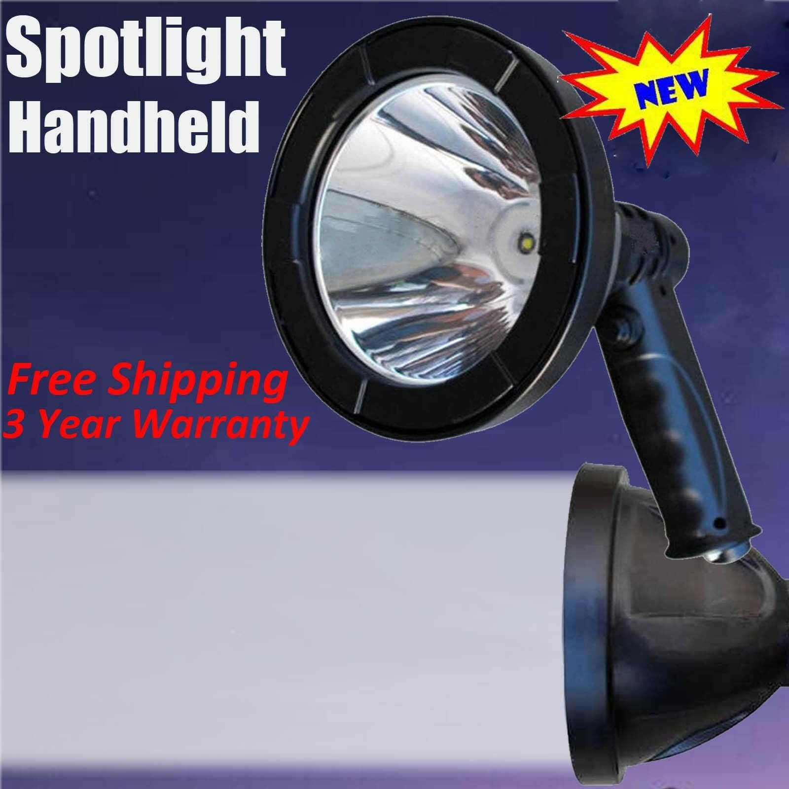 800W CREE LED Rechargeable Spotlight Hunting Handheld  Spot Light Camp Lamp 12V  gorgeous