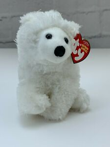 TY Beanie Baby Collection Retired Frostiness The Polar Bear Dec.1,2007 Errors