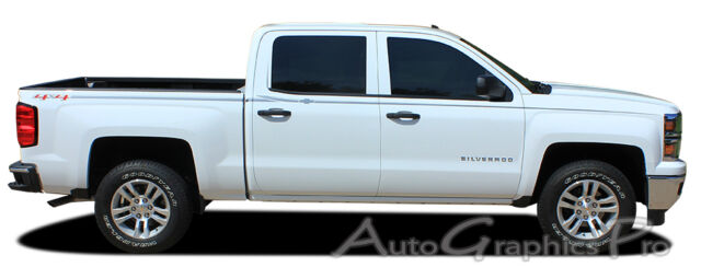 For Chevy Silverado Crew Cab Graphics Kit Ee 2366 Decals