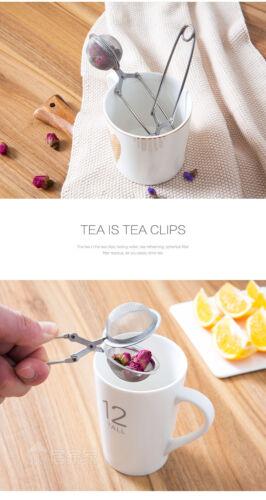 Handle Stainless Steel Tea Pot Infuser Sphere Mesh Tea Strainer Tea Infuser Tool