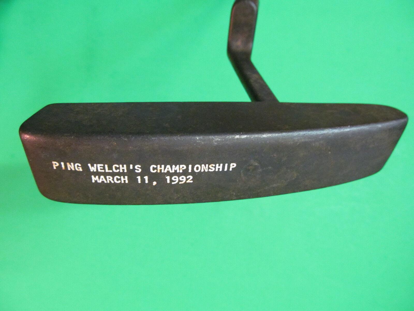 36  Ping Zing 5 Putter Welch's  campeonato 1992  descuentos y mas