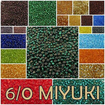 6//0 20 g Miyuki Round Seed Beads #147-190