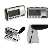 Spy Camera Alarm Clock Video Recorder Hidden Nanny Cam DVR Motion Detection M67