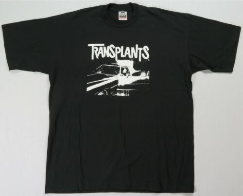 Rare VTG PRO CLUB Transplants Car T Shirt 90s 2000