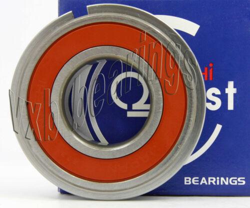 6310-2NSENR Nachi Sealed C3 Snap Ring Japan 50mm x 110mm x 27mm Ball Bearings