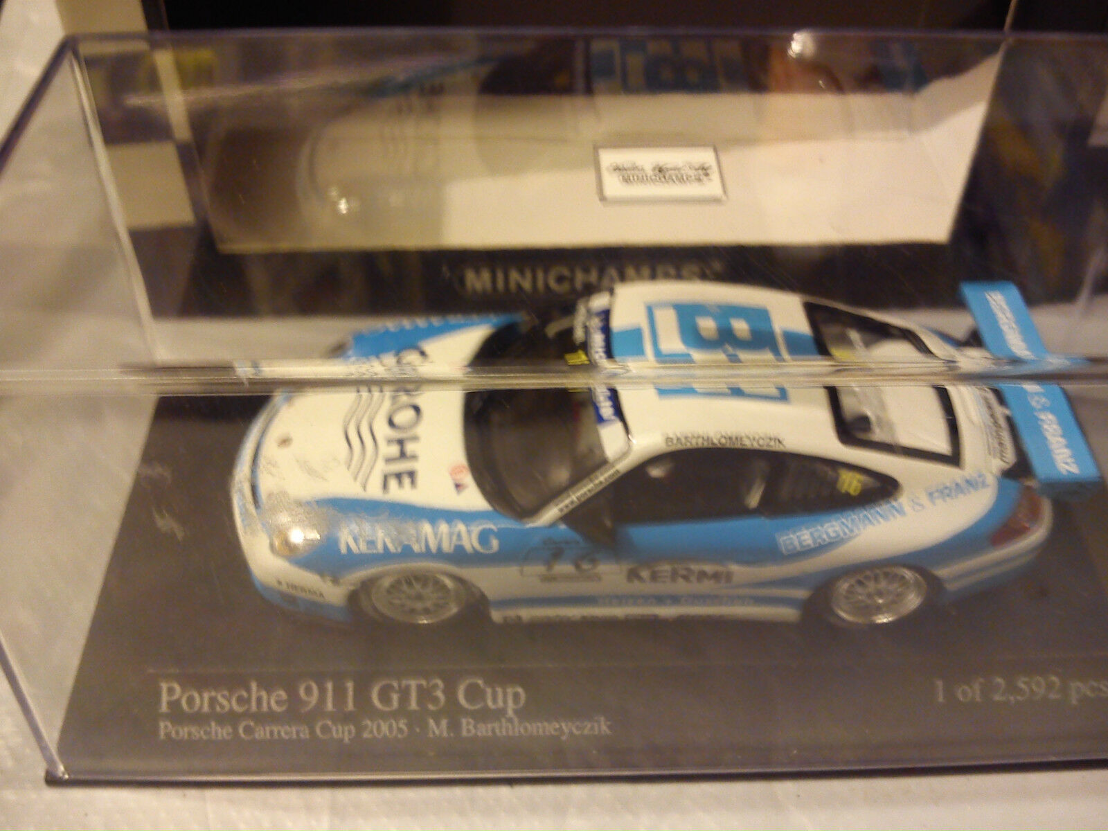 MINICHAMPS 1 43 PORSCHE 911 GT3 CUP 2005