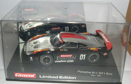 Carrera Evolution 25406 Porsche 911 GT1 Evo  01 Team Fes Spain 1999 Limit.ed MB