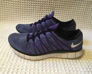 new style 703b0 80780 Image is loading NIKE-599459-Free-Flyknit-NSW-5-0-Sneakers-