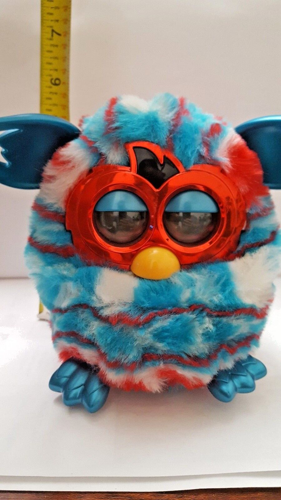 FURBY Hasbro Festive Holiday Red White bluee American Flag Sweater Edition AG
