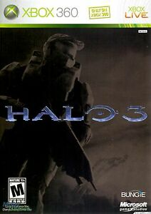 XBOX-360-Halo-3-Video-Game-LIMITED-EDITION-three-online-multiplayer-DISC-ONLY