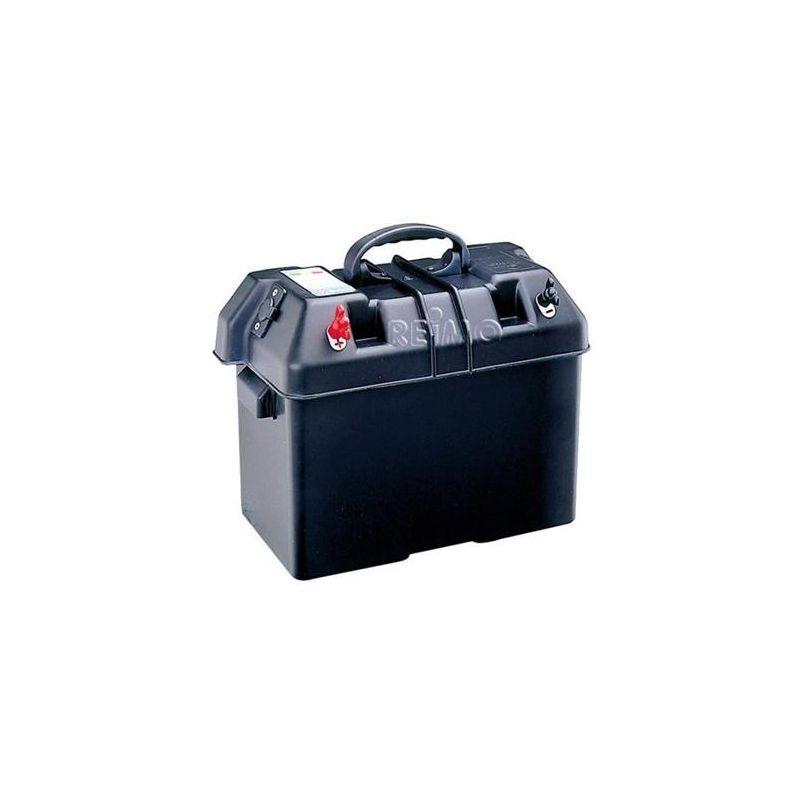 Batteriekasten Batterie M10 Aussenklemmen + Testfunktion Rangierhilfe autoSteady