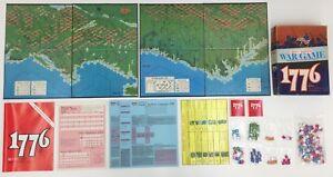 1776 Le jeu de la guerre d'indépendance américaine Avalon Hill 1975 Ed. Du bicentenaire