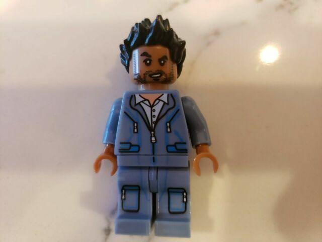 LEGO minifigure jw003 Simon Marsani - Jurassic World CHEAPEST 75915