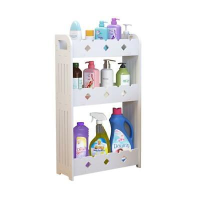 3-tier Wood Plastic Bathroom Shower Bath Caddy Corner ...