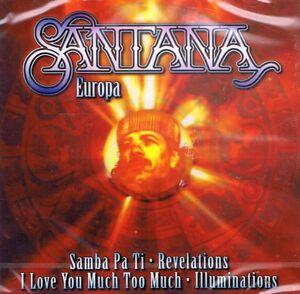 MUSIK-CD-NEU-OVP-Santana-Europa