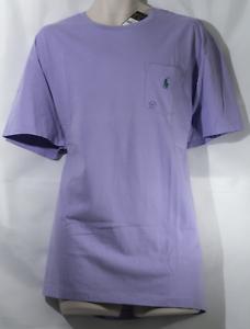 9f67a68c Polo Ralph Lauren Men's Purple Pocket T-Shirt Size XL, NWT ...