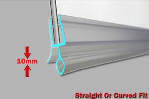 Schermo doccia bagno curvo in gomma guarnizione in plastica 4-6 mm porta di vetro piatto Spazio Vuoto  </span>