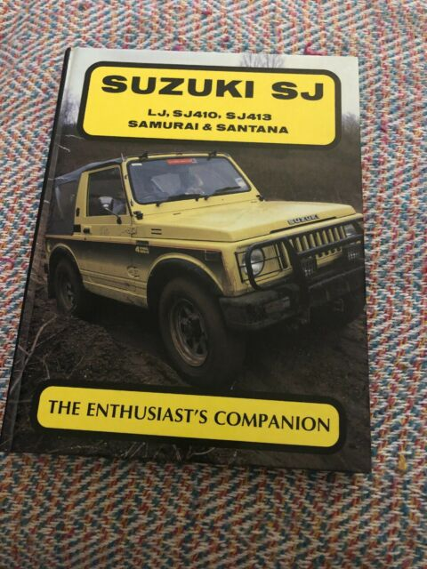 Suzuki SJ: The Enthusiast's Companion by Ray Hutton (Hardback, 1989)