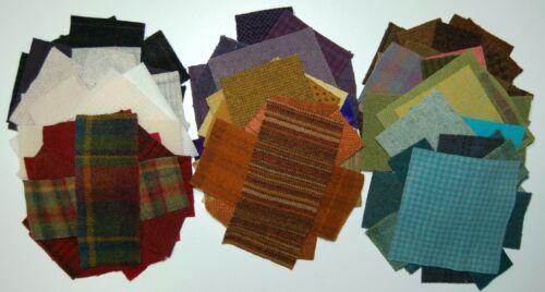 "10/""x14/"" Bag} 70 pcs {Woolie Goodie Scrap Bag ~ for Wool Applique"